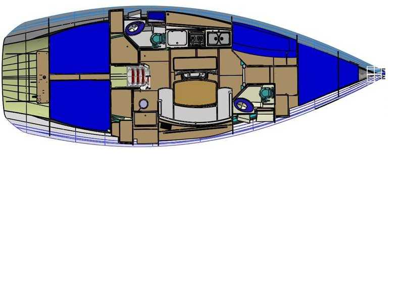 Sunsail Cyclades 43.4 Monohull